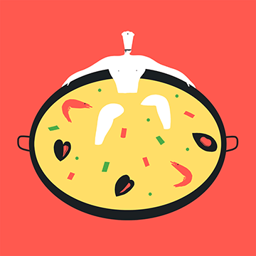 Magoz illustration - Pleasure of cooking - Featured