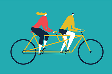 Magoz Illustration - Tandem - Featured