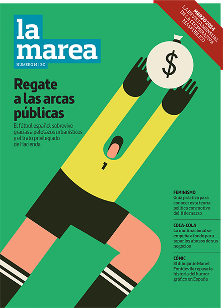 Magoz illustration - corruption in football