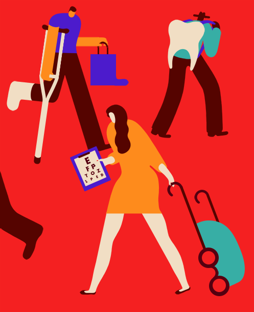Magoz illustration - Medical tourism