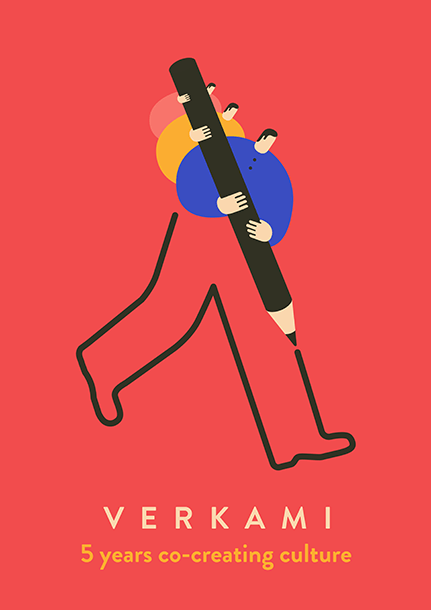 Magoz illustration - Verkami Poster - Co creating culture