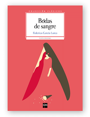 Magoz illustration cover for Bodas de Sangre published by SM - featured