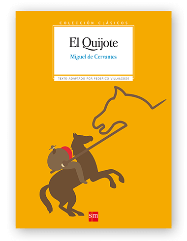 Magoz illustration cover for El Quijote edited by SM - featured