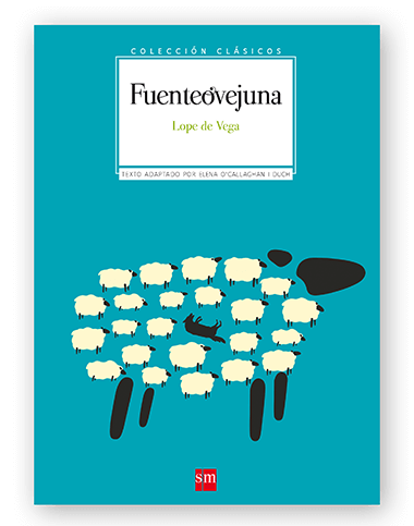 Magoz illustration cover for Fuenteovejuna by Lope de Vega. Published by SM - featured