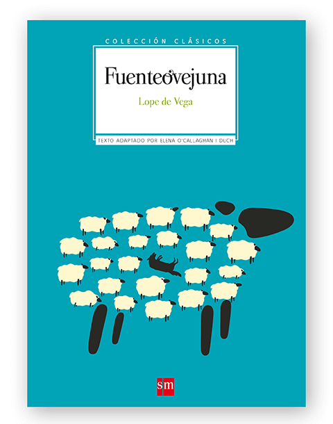 Magoz Illustration cover for Fuenteovejuna. Published by SM