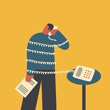 Magoz illustration - Wrong call and communication problems - featured